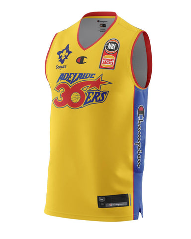 Adelaide 36ers 2021 Authentic Heritage Youth Jersey