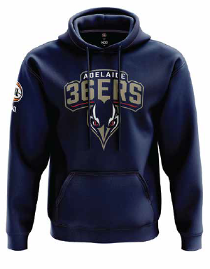 Adelaide 36ers Navy Youth Hoodie