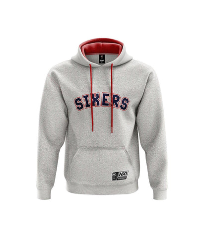 Sixers Grey Youth Hoodie - Adelaide 36ers