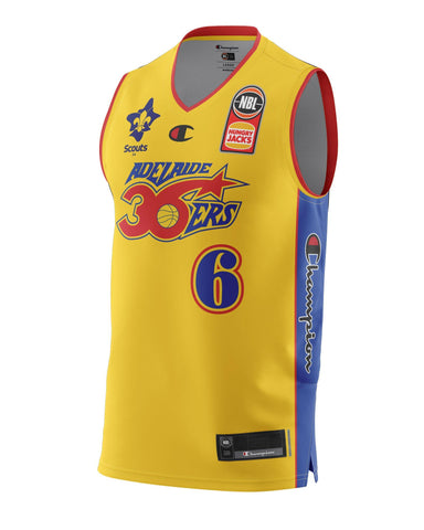 Adelaide 36ers 2021 Authentic Heritage Youth Jersey - Josh Giddey