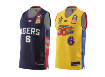 Adelaide 36ers Josh Giddey 2021 Authentic Adult Jersey Pack - Home & Heritage