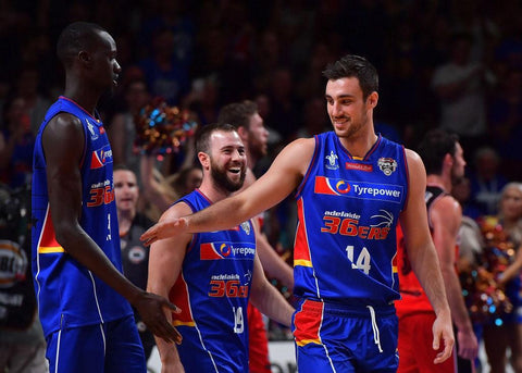 2016/17 Adelaide 36ers Game Worn Finals Home Jersey - Sam Johns