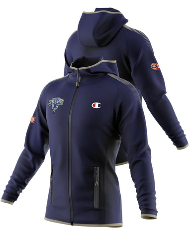 Adelaide 36ers Player Official Performance Zip Hoodie