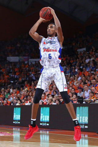 2016/17 Adelaide 36ers Game Worn Finals Away Jersey - Terrance Ferguson