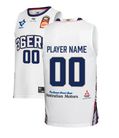 Deshon Taylor Adelaide 36ers 19//20 Authentic Home Jersey