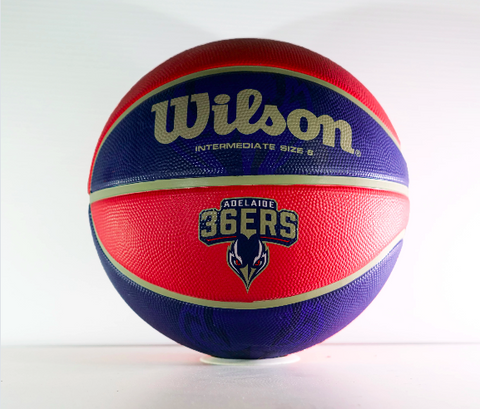 Signed - Jack McVeigh Adelaide 36ers Basketball - Limited - Adelaide 36ers
