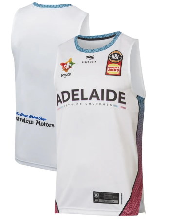 2019/20 Adelaide 36ers Game Worn City Theme Edition Jersey - Bijan Johnson