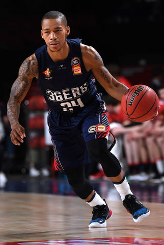 SIGNED - 2019/20 Adelaide 36ers Game Worn Home Jersey - Jerome Randle - Adelaide 36ers
