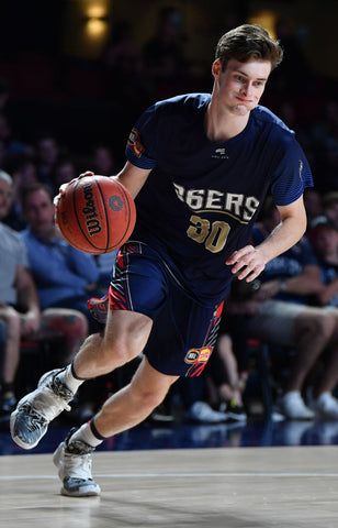 2019/20 Adelaide 36ers Game Worn Home Jersey - Michael Harris