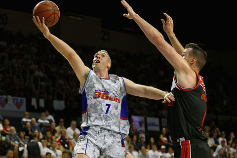 SIGNED - 2016/17 Adelaide 36ers Game Worn Finals Away Jersey - Brendan Teys - Adelaide 36ers