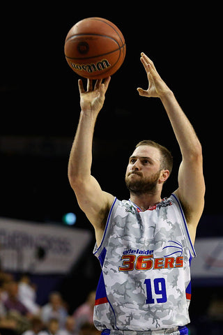 2016/17 Adelaide 36ers Game Worn Finals Away Jersey - Adam Doyle