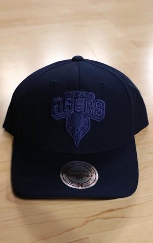 2019/20 Mitchell & Ness Adelaide 36ers Blue on Blue Cap - Adelaide 36ers