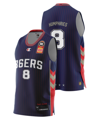 Adelaide 36ers 2021 Authentic Home Youth Jersey - Isaac Humphries - Pre Order - Adelaide 36ers
