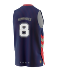 Adelaide 36ers 2021 Authentic Home Jersey - Isaac Humphries - Adelaide 36ers