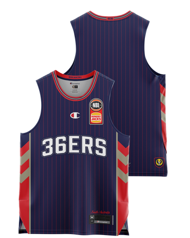 Adelaide 36ers 2021 Authentic Home Jersey - Pre Order - Adelaide 36ers