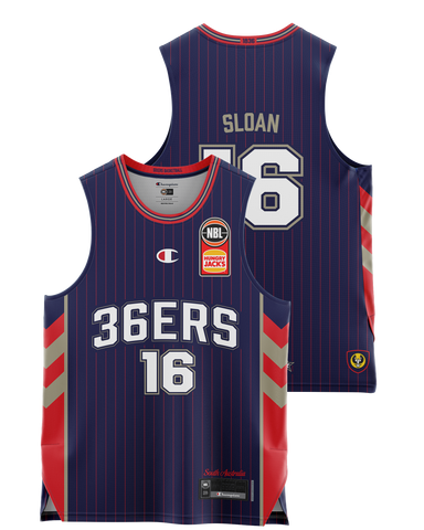 Adelaide 36ers 2021 Authentic Home Jersey - Donald Sloan - Pre Order - Adelaide 36ers