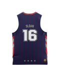 Adelaide 36ers 2021 Authentic Home Youth Jersey - Donald Sloan - Adelaide 36ers