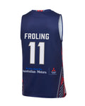 2019/20 Adelaide 36ers Authentic Home Jersey - Harry Froling - Adelaide 36ers