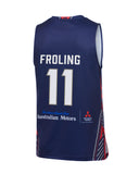 2019/20 Adelaide 36ers Authentic Home Jersey - Harry Froling