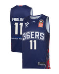 2019/20 Adelaide 36ers Authentic Youth Home Jersey - Harry Froling - Adelaide 36ers