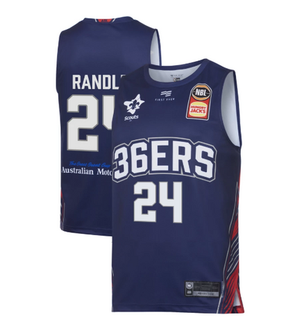 2019/20 Adelaide 36ers Authentic Youth Home Jersey - Jerome Randle - Adelaide 36ers