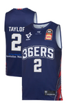 2019/20 Adelaide 36ers Authentic Youth Home Jersey - Deshon Taylor - Adelaide 36ers