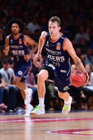 2017/18 Adelaide 36ers Game Worn Home Jersey - Nathan Sobey