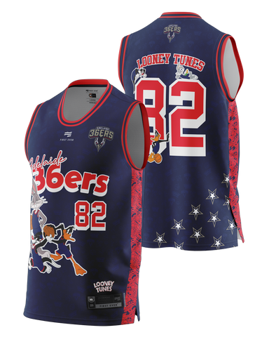 Adelaide 36ers Looney Tunes 20/21 Fan Youth Jersey - Adelaide 36ers