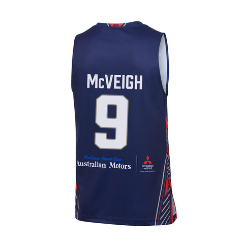 2019/20 Adelaide 36ers Authentic Youth Home Jersey - Jack McVeigh - Adelaide 36ers