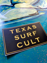 Texas Surf Cult Sticker