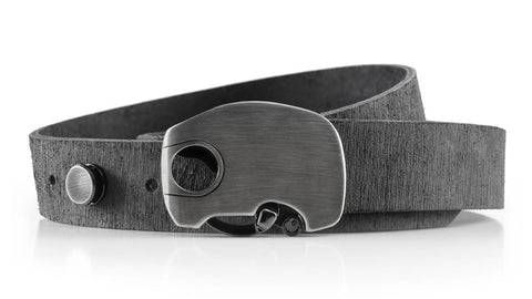 get your brother a unique gift at an affordable price! our hand made distressed grey leather can be shipped anywhere, even Florida. USA made products.