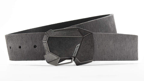 Stone Fractal 2.0 belt buckle has an easy way to open, just click the button to open your belt