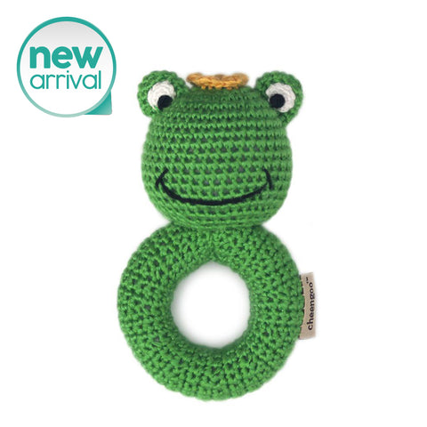 Frog Prince Ring Rattle
