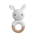 Bunny Rattle Teether