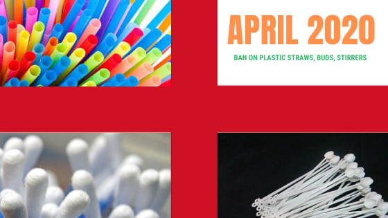 England to Ban Plastic Straws, Cotton Buds And More...