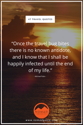 Travel Bug Quote
