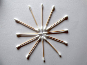 Bamboo Cotton Buds - Wholesale Pack 10 x 100