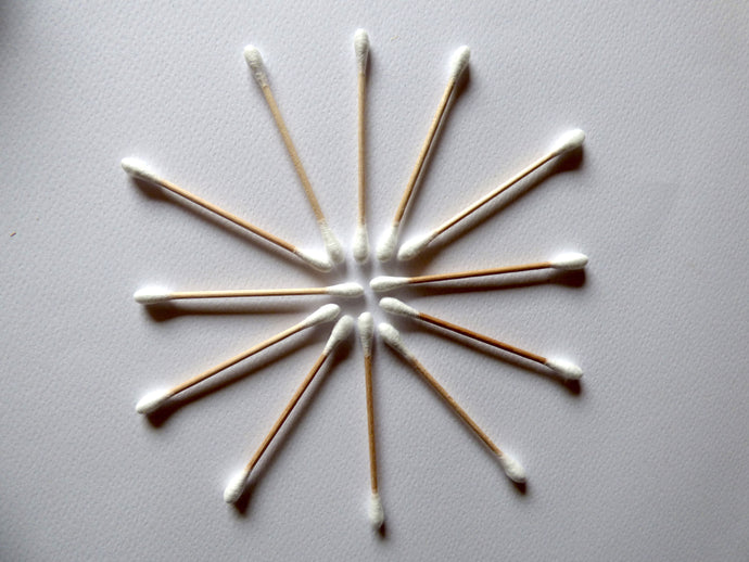 Bamboo Cotton Buds - Wholesale Pack 10 x 100 - Nomad Genie