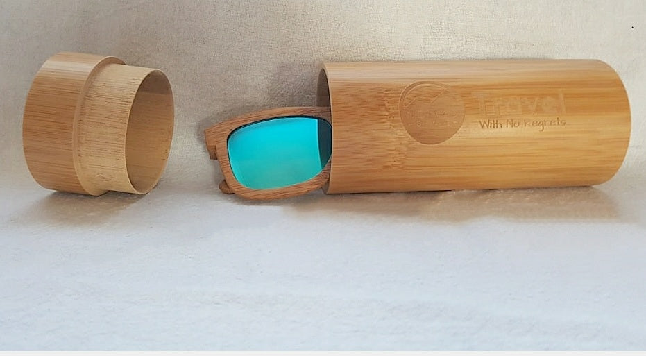 NG Bamboo Sunglasses Travel Case