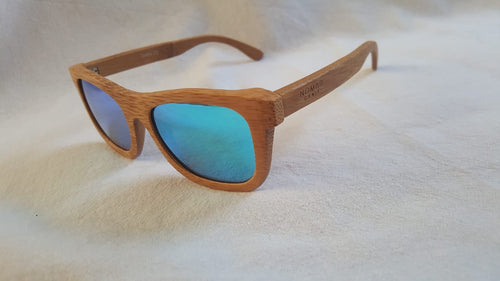NG Banbury Polarised Bamboo Sunglasses - Nomad Genie