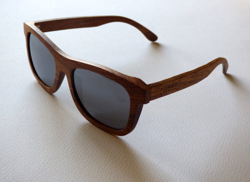 NG Sabine Polarised Wood Sunglasses - Nomad Genie