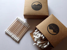 Load image into Gallery viewer, Bamboo Cotton Buds - Wholesale Pack 10 x 100