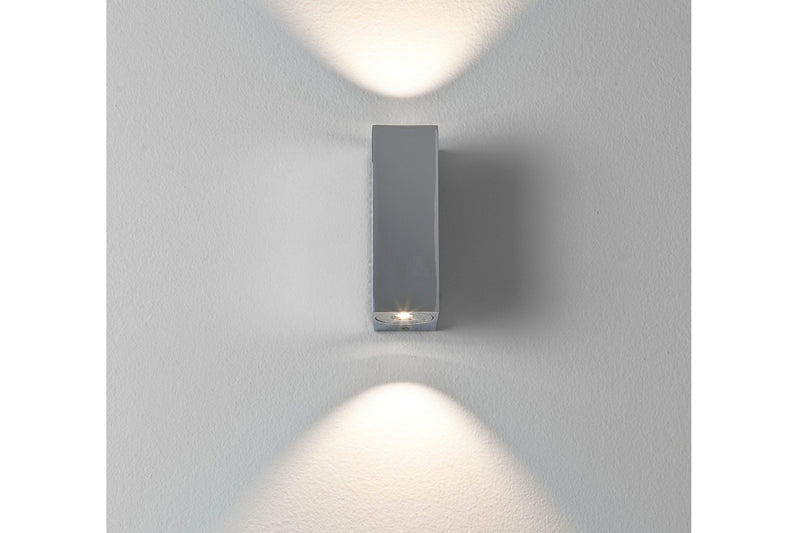 Bloc by astro LED light in matt nickel