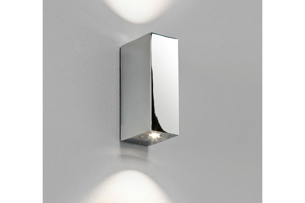 Bloc by astro LED light in polished chrome finish