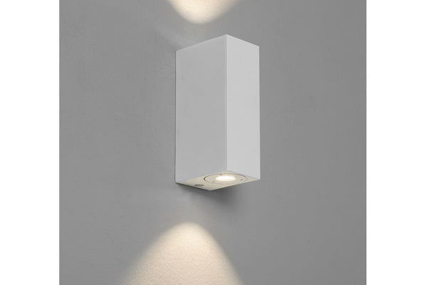 Bloc by astro LED light in matt white