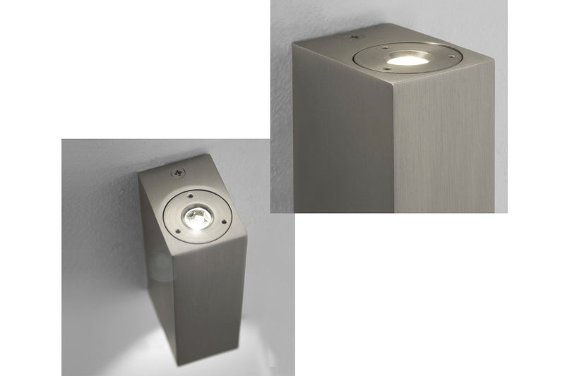 Bloc by astro LED light in matt grey