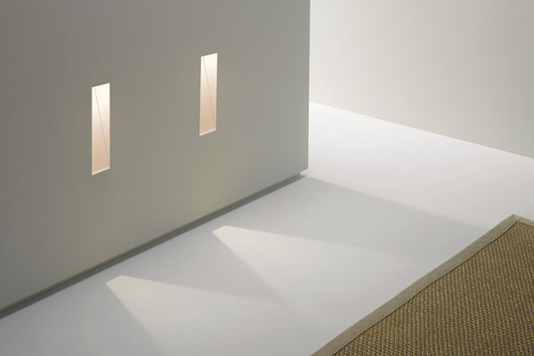 trimless recessed wall light