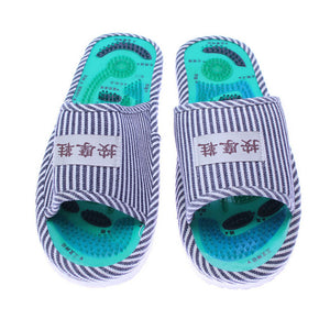 Men/Ladies Relaxing Foot Acupoint Flat Slippers