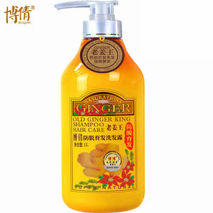 Old Ginger Juice Hair Shampoo and Treatment Oil