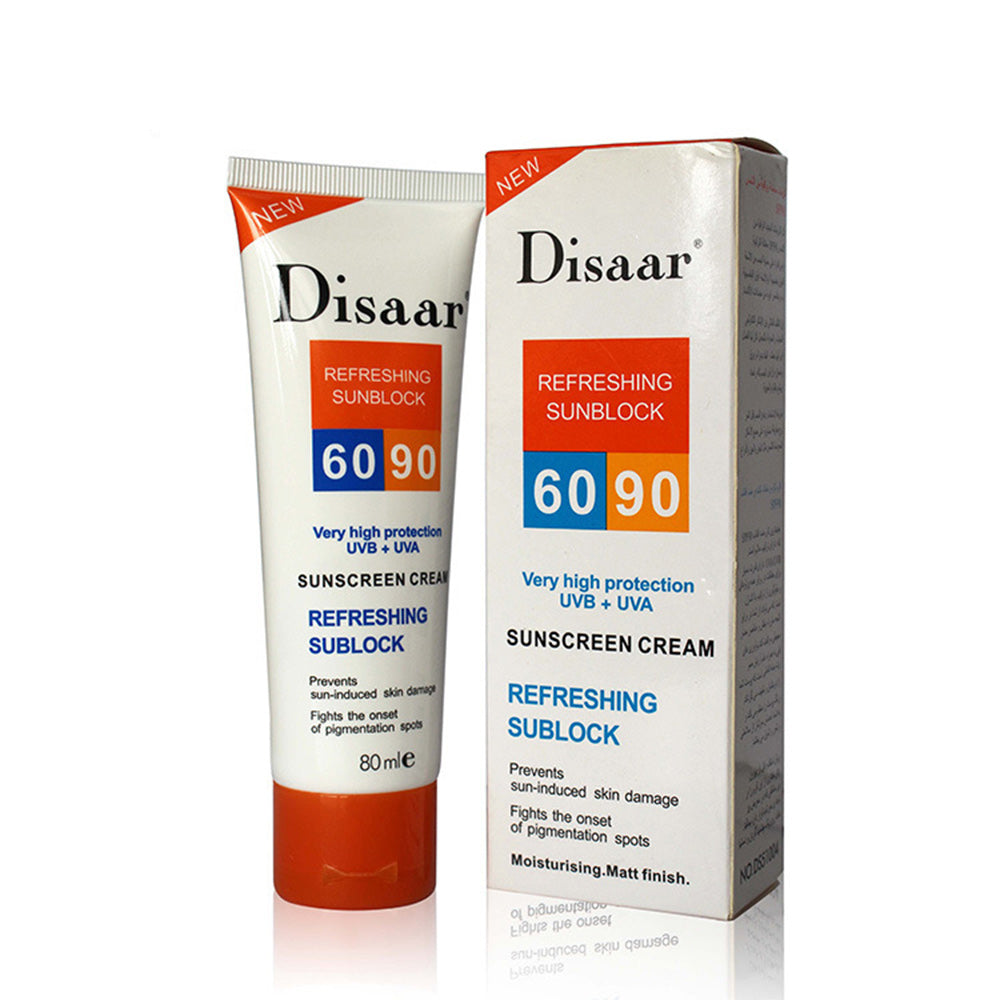 Disaar Facial Body Sunscreen Cream Sunblock 60/90++